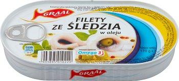 Graal filety ze śledzia w oleju