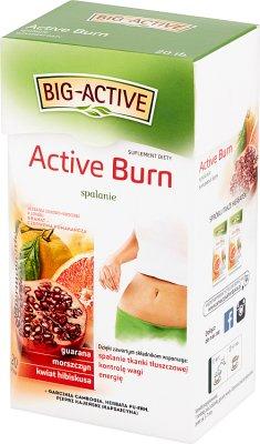 Big-Active Active Burn Herbatka ziołowo-owocowa Suplement diety