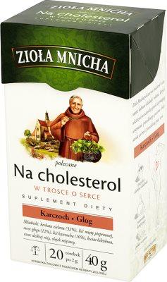 Big-Active Zioła Mnicha Na cholesterol, herbata zielona, torebki po 2g