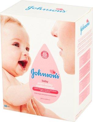 Johnson's Baby wkładki laktacyjne z plastrem zapobiegającym przesuwaniu