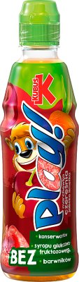 Kubuś Play napój owocowy marchew, czereśnia, limetka, jabłko, cytryna