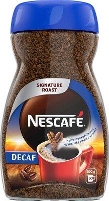 Nescafe Classic kawa rozpuszczalna bezkofeinowa