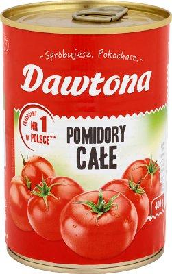 Dawtona Pomidory całe w puszce