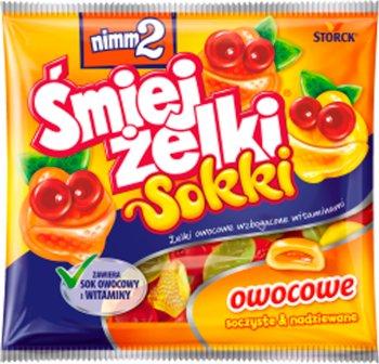 Nimm2 Śmiej żelki wzbogacone witaminami  Sokki
