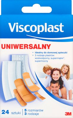 Viscoplast ensemble universel de pansements hypoallergéniques en différentes tailles