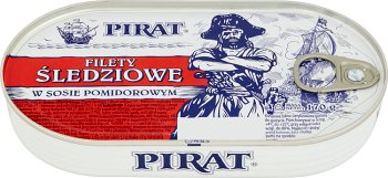 Pirat filety śledziowe w sosie pomidorowym
