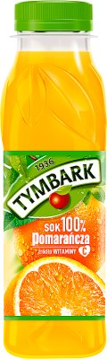 Tymbark pomarańcza sok 100% Z dodatkiem witaminy C