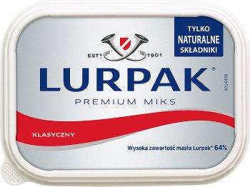 Lurpak duńskie masło klasyczne