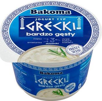Bakoma jogurt naturalny Grecki 7,5%