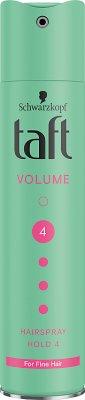 Taft Volume podwójna objętość supermocny lakier do włosów
