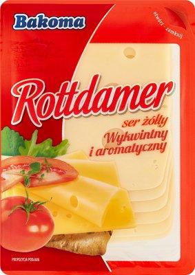 Bakoma ser żółty w plastrach Rottdamer
