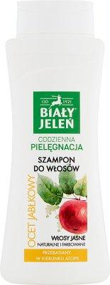 Biały Jeleń hipoalergiczny szampon do włosów Ocet jabłkowy