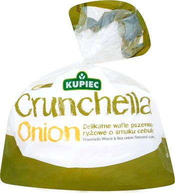 Kupiec Crunchella Onion Lekkie wafle cebulowe