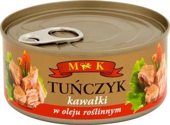 MK Tuńczyk kawałki w oleju roślinnym