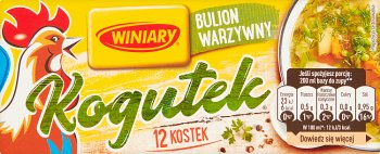 Bouillon de légumes kogutek