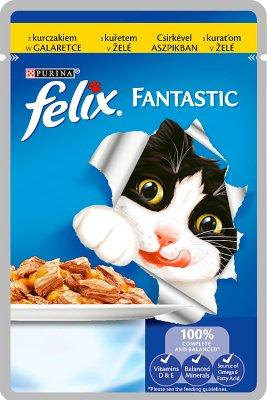 Felix Fantastic karma dla kotów z kurczakiem w galaretce