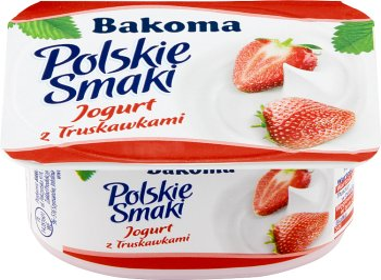 Znalezione obrazy dla zapytania jogurt polskie smaki