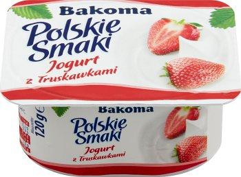 Bakoma Polskie Smaki jogurt truskawkowy