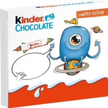 Kinder Chocolate 4 batoniki z mlecznym nadzieniem