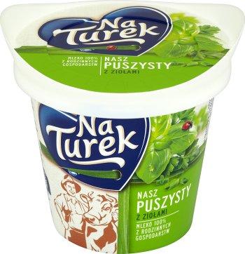Turek Puszysty delikatny i śmietankowy  z ziołami