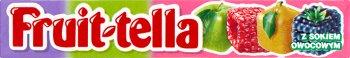 Fruittella  cukierki do żucia jabłko, gruszka, malina, jeżyna