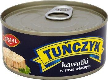 Graal tuńczyk kawałki w sosie własnym