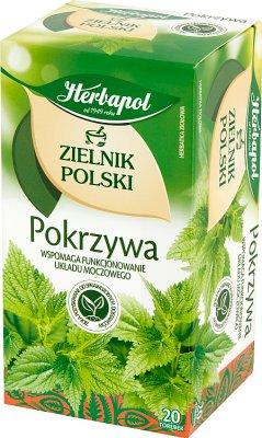 Herbapol Zielnik Polski herbata ziołowa Pokrzywa