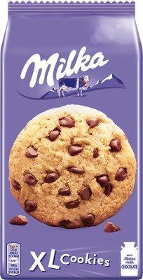 MILKA Ciastka z dużymi kawałkami czekolady