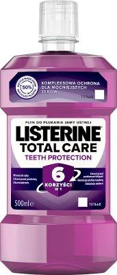 Listerine Płyn Do Płukania Jamy Ustnej Total Care