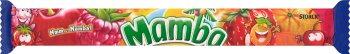 MAMBA Rozpuszczalne cukierki do żucia 4 smaki (4x26,5g)