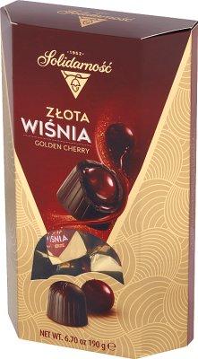 Solidarność Wiśnie w Likierze, czekoladki