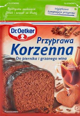 Dr. Oetker Przyprawa korzenna do piernika i grzanego wina