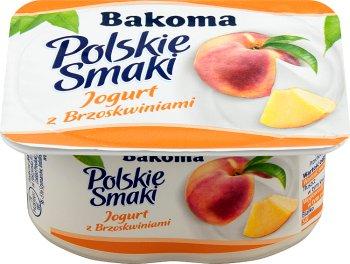 Bakoma Polskie Smaki jogurt brzoskwiniowy