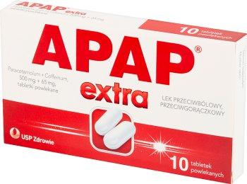 apap analgésique et antipyrétique supplémentaire , comprimés pelliculés