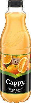 Cappy sok 100% pomarańczowy, bez dodatku cukrów