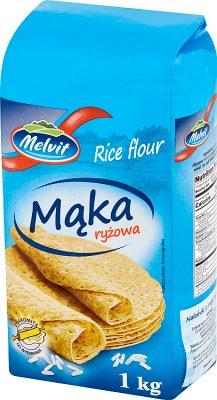 Melvit mąka ryżowa