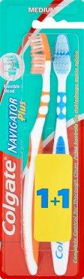 Colgate Navigator Plus szczoteczka do zębów 1+1 GRATIS medium