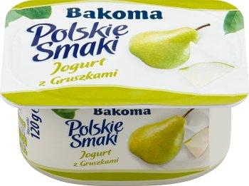 Bakoma Polskie Smaki jogurt gruszkowy