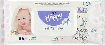 Bella Baby Happy chusteczki nasączone sensitive Aloe Vera PH 5,5 neutralne