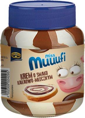 dúo de chocolate crema de leche