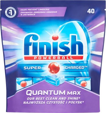 Finish Quantum  Powerball tabletki do zmywarki Regular