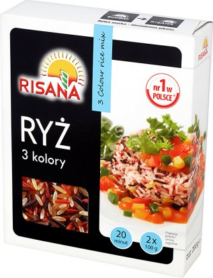 Sonko ryż 3 kolory