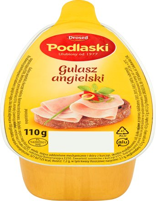 Drosed Gulasz angielski z kurcząt
