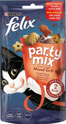 felix party mix gato convite Mixed Grill