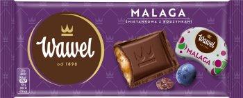 Wawel czekolada z nadzieniem Malaga