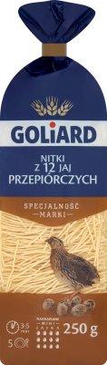 Goliard makaron 12 jajeczny z jaj przepiórczych Krajanka
