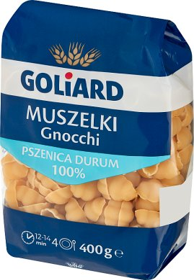 Goliard makaron 100% pszenicy durum Muszelka