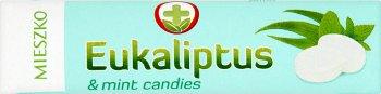 eucalyptus bonbons à l'eucalyptus et le menthol