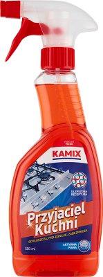 Kamix Przyjaciel Kuchni płyn odtłuszczający aktywna piana