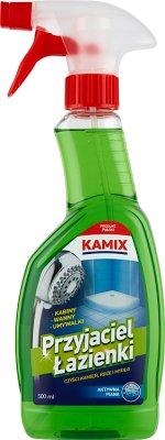 Kamix Przyjaciel łazienki płyn czyszczący kamień, rdza, mydło